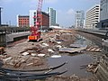 Liverpool Canal Link - working in Princes Dock 3 - geograph.org.uk - 1700811.jpg