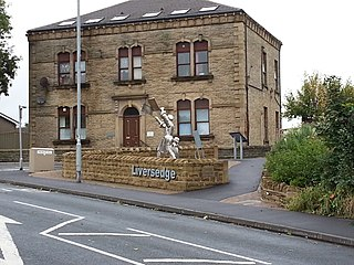 Liversedge Township in West Yorkshire, England