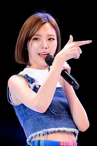 Park Soo-ah - Lizzy in 2015