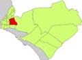 Localització del barri de l'Estadi Balear respecte del Districte de Llevant.png