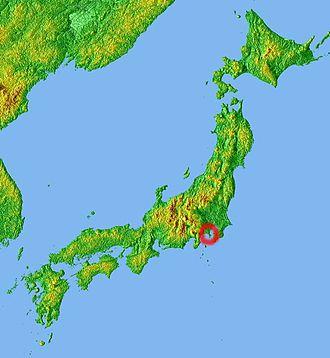 Miura Peninsula - Location
