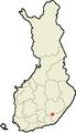 Location of Suomenniemi in Finland.png