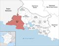 Locator map of Kanton Arles.png