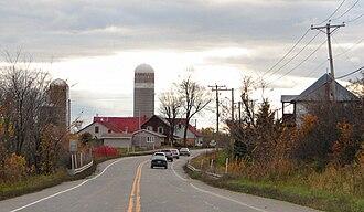 Quebec Route 148 - Rte. 148 through Lochaber.