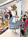 Lolita girl handing out candy to children at Ginza Mall Beijing (20201224180934).jpg