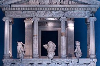 Nereid Monument - Façade of Nereid Monument