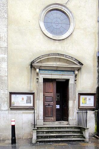 St Margaret Pattens - Image: London city eastern part guild church st margaret 08.03.2013 16 43 26