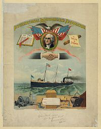 International Longshoremen's Union banner