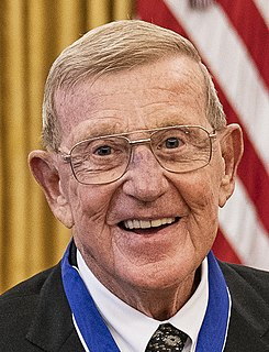 Lou Holtz American football coach and analyst