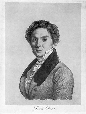 Louis Choris - Louis Choris, lithograph by Joseph Langlumé after a self-portrait of Choris