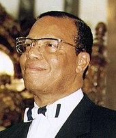 Louis Farrakhan in 2005
