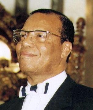 Louis Farrakhan, smiling