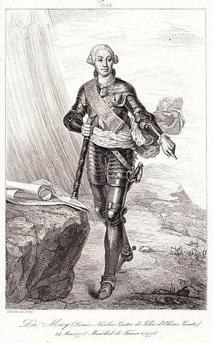 Louis Nicolas Victor de Félix d'Ollières - Image: Louis Felix d'ollieres duc muy