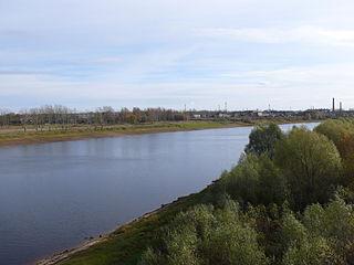 Parfino Work settlement in Novgorod Oblast, Russia