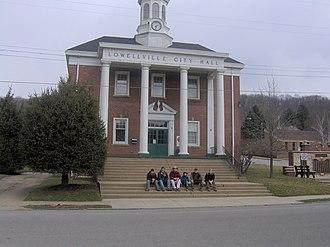 Lowellville, Ohio - Lowellville Municipal Building