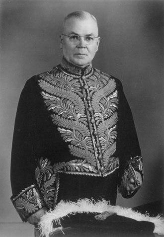 William John Patterson - Patterson during his time as Lieutenant Governor of Saskatchewan