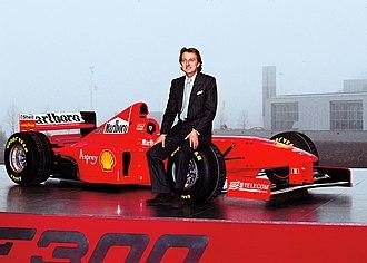 Ferrari F300 - Image: Luca Cordero di Montezemolo Gian Angelo Pistoia
