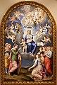 Luca longhi, madonna col bambino con s. caterina, s. orsola e le vergini, 1555, 01.jpg