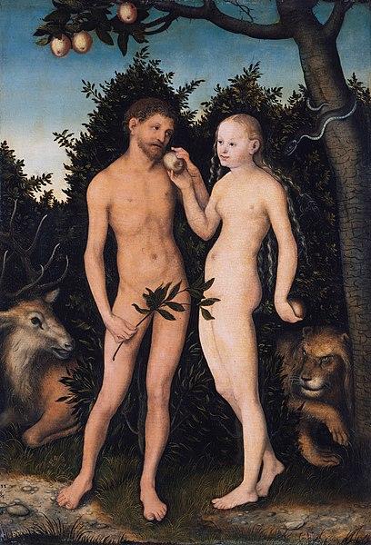 http://upload.wikimedia.org/wikipedia/commons/thumb/8/8f/Lucas_Cranach_the_Elder_-_Adam_und_Eva_im_Paradies_%28S%C3%BCndenfall%29_-_Google_Art_Project.jpg/408px-Lucas_Cranach_the_Elder_-_Adam_und_Eva_im_Paradies_%28S%C3%BCndenfall%29_-_Google_Art_Project.jpg