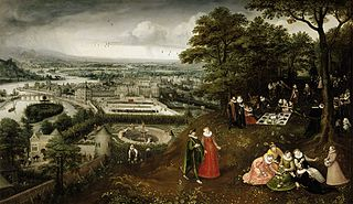 Spring Landscape (Representation of the month of May)