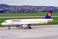 D-AIQF - A320 - Lufthansa