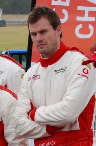 Luke Darcy - Darcy at the celebrity race at  Australian Formula 1 Grand Prix in Melbourne