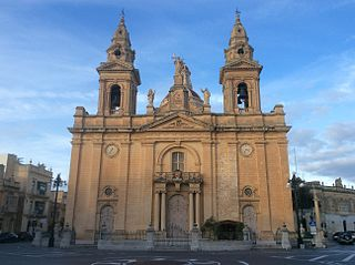 St Andrews Parish Church, Luqa Church in Luqa, Malta