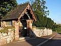 Lychgate, Clyst St George - geograph.org.uk - 1660060.jpg