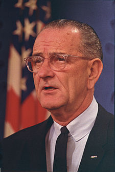 Lyndon B. Johnson, Honolulu Conference on the Vietnam War C1283-6 original.jpg