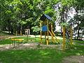 Mänguväljak Tartus Toomemäel, Vallikraavi tänava poolses küljes, 20. juuli 2012.JPG