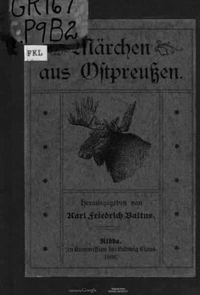 File:Märchen aus Ostpreußen (1906).djvu