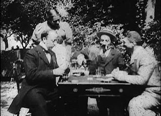 Playing Cards (film) - Image: Méliès, Partie de cartes (Star Film 1, 1896)