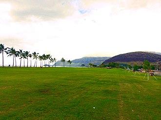 Māili, Hawaii - Māʻili Beach Park.