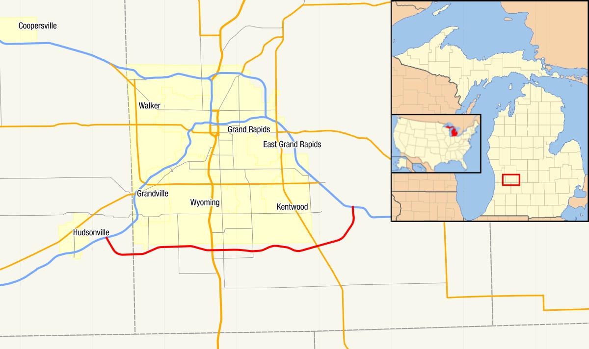 M Michigan Highway Wikipedia - Washington dc pyramid map