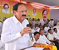 M. Venkaiah Naidu addressing at the foundation stone laying ceremony of the community health centers Venkatachalam and Vinjamur, at Venkatachalam, Nellore district of Andhra Pradesh.jpg