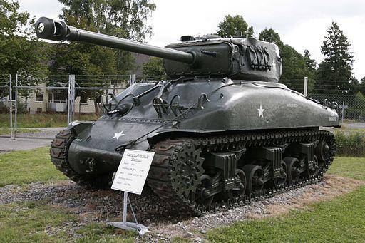 M4A1 on Panzermuseum Munster