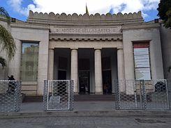 Resultado de imagen para el museo de bellas artes se acerca a un centenario agrietado