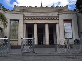 Museo de Bellas Artes (Caracas) - Image: MBA 2014