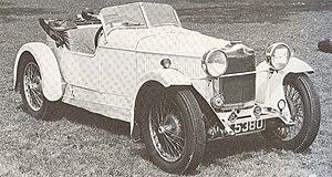 Jensen Motors - Alan Jensen's first Avon Special