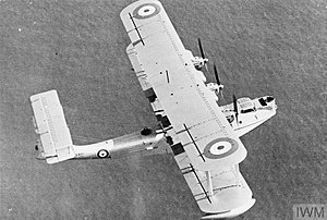 Blackburn Perth - A Perth, flying with the MAEE in 1935