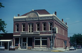 National Register of Historic Places listings in Clark County, Missouri - Image: MONTGOMERY OPERA HOUSE