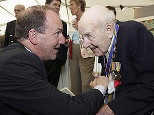 MP Simon Hughes meets WWI veteran and Europe's...