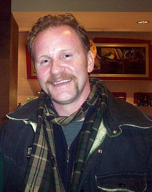 Morgan Spurlock - Spurlock at the 2008 Sundance Film Festival