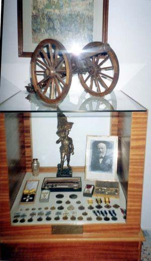 Kilkis War Museum - Image: Macedonian Museums 56 Polemiko Kilkis 248