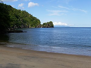 Macqueripe Bay in Chaguaramas