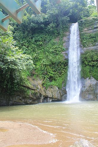 Bengal - Waterfalls are a common sight in the highlands of eastern Bangladesh