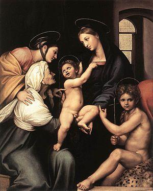 Madonna dell'Impannata - Image: Madonna Impannata
