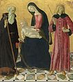 Madonna and Child with Saint Anthony Abbot and Saint Sigismund A12844.jpg