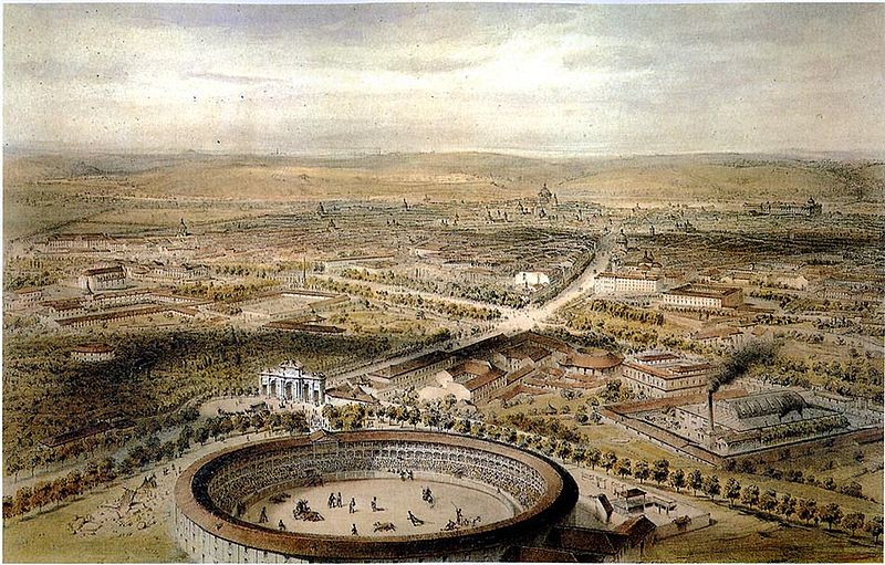 Archivo:Madrid (1854)- Vista aérea.jpg