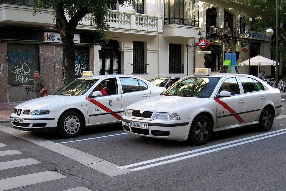 Madrid taxis